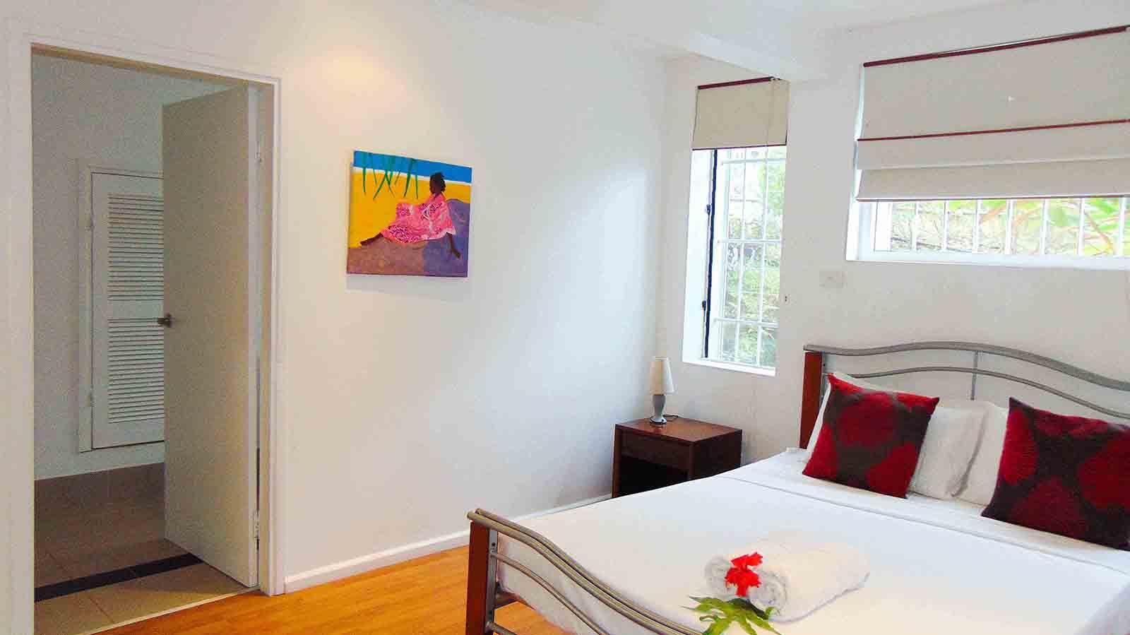 Bedroom n°2 - Comfortable double bed